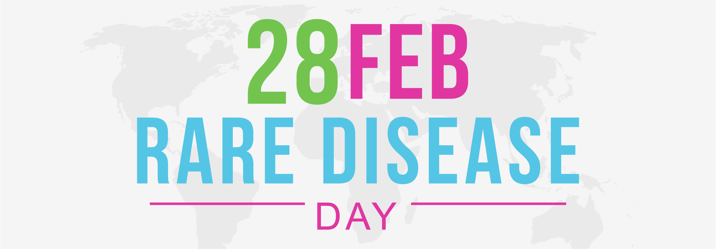 February 28 Rare Disease Day world wide