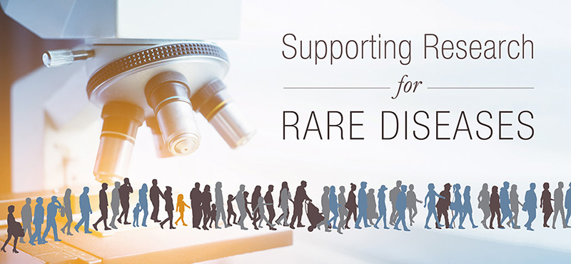 Supporting Research for Rare Diseases image