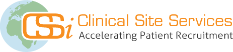 CSSi; Clinical Site Services Logo