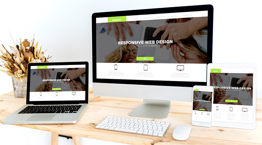 images of responsive design with websites